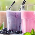 koolhydraat arme frambozen smoothie