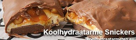 koolhydraatarme snickers